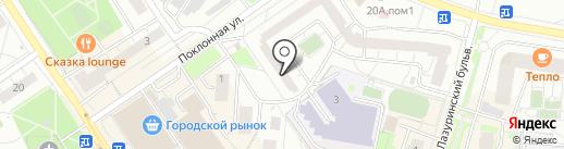 СпортСтрой на карте Дзержинского