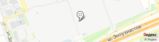ТРЕК на карте Балашихи