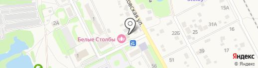 Саната на карте Домодедово
