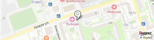 Сервисный центр городского хозяйства г. Реутова на карте Реутова