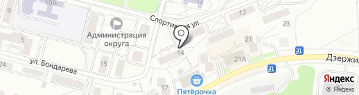 Хлоя на карте Дзержинского