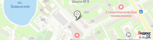 Союз потребителей Московской области на карте Пушкино