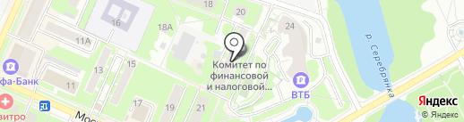 Управление здравоохранения на карте Пушкино