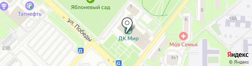 Игровой городок на карте Реутова