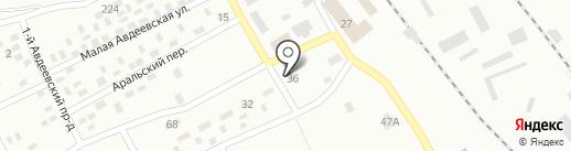 Апельсин, продовольственный магазин на карте Макеевки