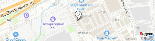 Мой интерьер на карте Реутова