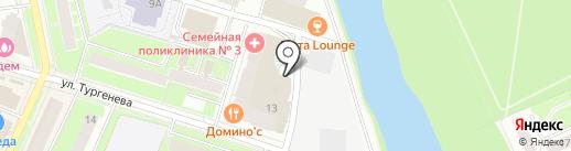 Автомойка на карте Пушкино
