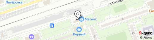 ABCDE на карте Реутова