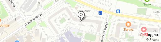 Ремонтная мастерская на карте Дзержинского