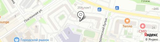 Вундеркинд на карте Дзержинского