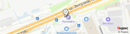 Платежный терминал, КБ ИС Банк на карте Реутова