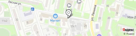 Фея на карте Реутова