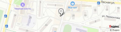 Флора на карте Дзержинского
