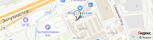 Свет на карте Реутова