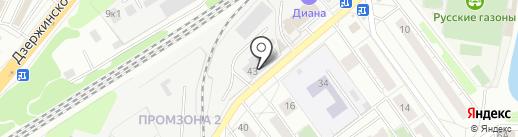 Гидросила М на карте Котельников
