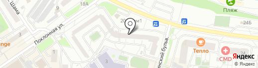 Планета Недвижимости на карте Дзержинского