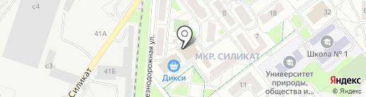 Салон-парикмахерская на карте Котельников