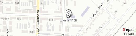 Макеевская общеобразовательная школа l-lll ступеней №58 на карте Макеевки