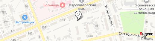 Автостоянка, СПД Бачаров И.А. на карте Ясиноватой