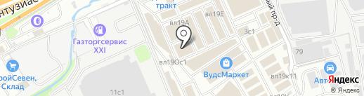 Мореплитки на карте Реутова
