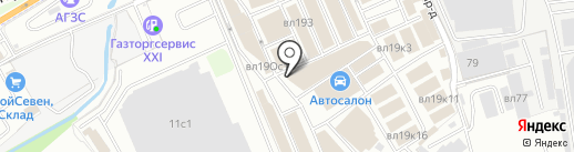 Строймет на карте Реутова
