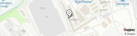 iberia1.ru на карте Реутова
