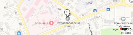 Свято-Петро-Павловский храм на карте Ясиноватой