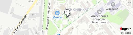 Киоск по ремонту обуви на карте Котельников