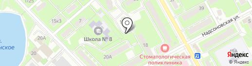 Карат на карте Пушкино
