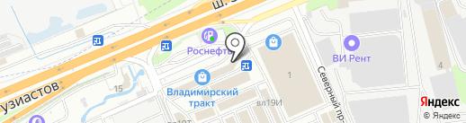 Технологии комфорта на карте Реутова