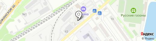 Меланя на карте Котельников