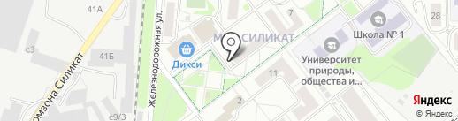 Магазин кондитерских и хлебобулочных изделий на карте Котельников