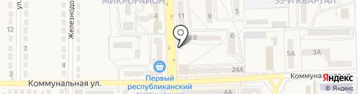 Цветочный салон, СПД Захарова А.А. на карте Ясиноватой