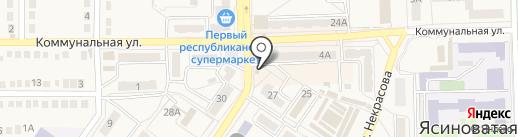 Феникс на карте Ясиноватой