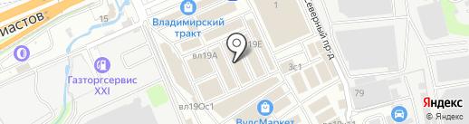 Магазин отделочных материалов на карте Реутова