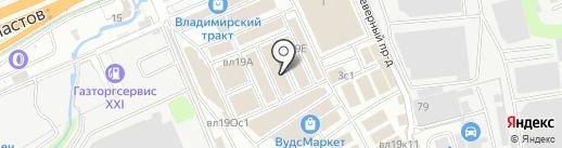 Керамика-Базар на карте Реутова
