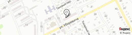 Гастроном на ул. Уборевича на карте Макеевки