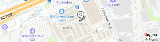 Гидросфера на карте Реутова