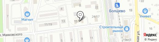 Мировые судьи Королёвского района на карте Юбилейного