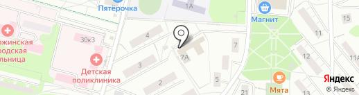 Управление опеки и попечительства на карте Дзержинского