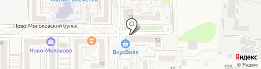 Участковый пункт полиции на карте Молоково