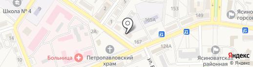 Мебельный мир на карте Ясиноватой