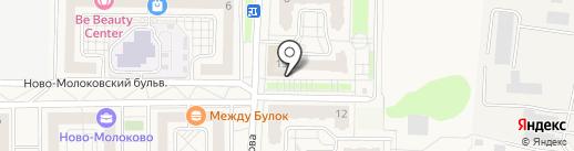 Магазин строительных материалов на карте Молоково