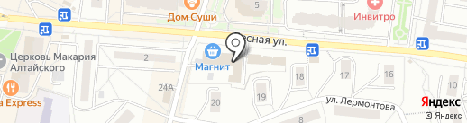 Фурнитуринг на карте Дзержинского