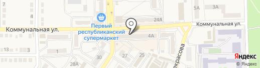 Мастер`ок на карте Ясиноватой