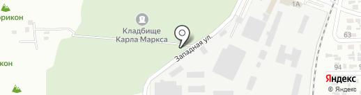 Кладбище (закрытое) пос. Карла Маркса на карте Макеевки