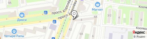 РЕСО-Гарантия, СПАО на карте Королёва