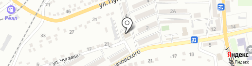 Строитель, магазин на карте Макеевки