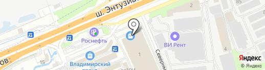 Краска-декор на карте Реутова