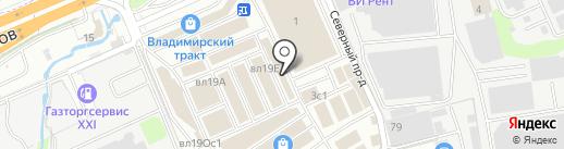 Вся плитка на карте Реутова